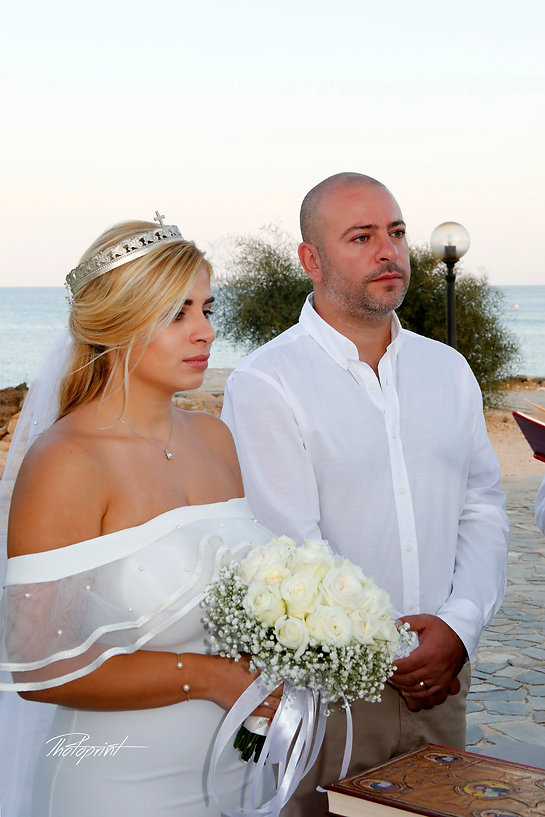 Smiling groom outdoors during the wedding ceremony | wedding protaras photographers, weddings photographer protaras