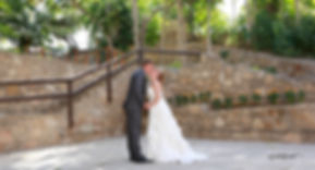 Wedding celebration, nature green background, bride and groom Kissing outdoors at the park | cyprus wedding photographer, cyprus civil wedding photography cost