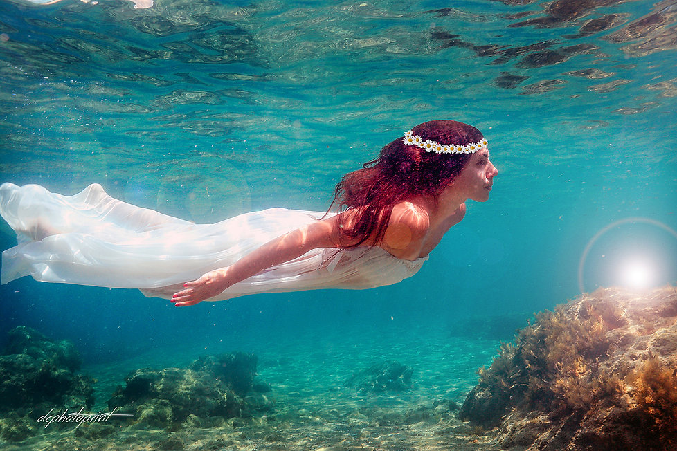 We are passionate about all that we do and love underwater weddings.