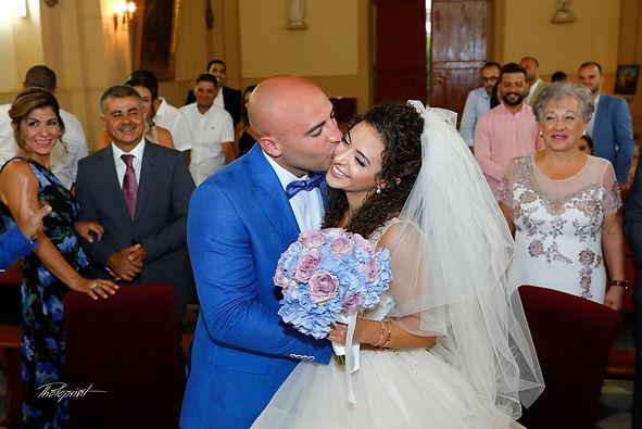 Happy bride and groom on their wedding | wedding photography larnaca , pre wedding lebanese  limassol Photography cyprus, photographers wedding ceremonies in lebanon and larnaca