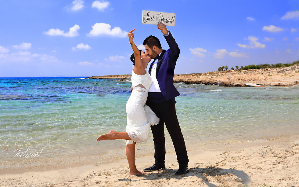 Couple in love outdoor in ayia napa. Photography ayia napa cyprus
