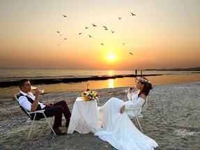 Beach weddings - Paphos wedding photographers
