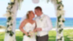 Close-up portrait of gorgeous beautiful bride in white dress with amazing hair style and make up, holding bouquet, blue Mediterranean Sea on background | wedding photographers protaras cyprus, cyprus wedding Protaras photography best prices
