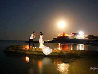 cyprus wedding photographer trash the dress - stunning wedding