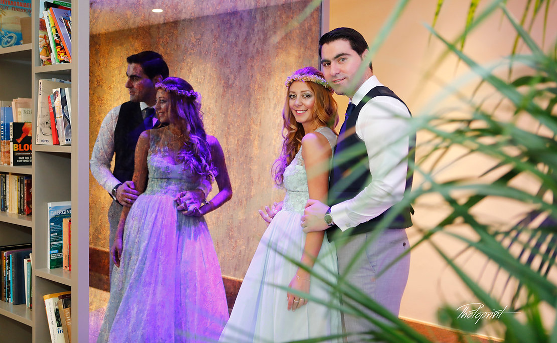 Romantic picture of the marriage couple in Hilton Park Hotel Nicosia, cyprus |  wedding photographer municipality nicosia, wedding photographer in nicosia, wedding photographers in nicosia