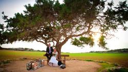 Beach wedding photographer cyprus