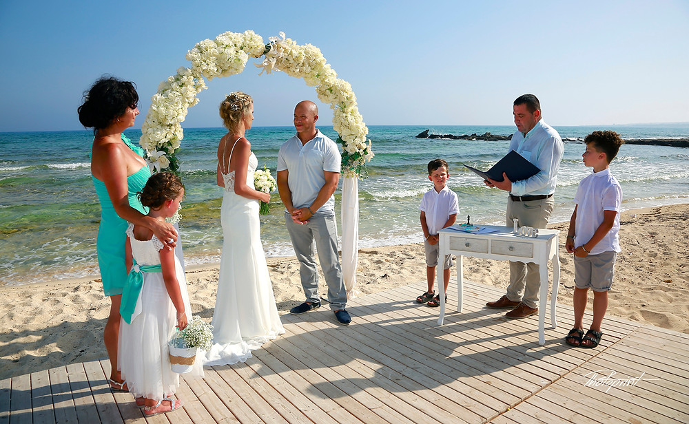 Sirens beach - Ayia Thekla Municipality - Procedure For Civil Marriage