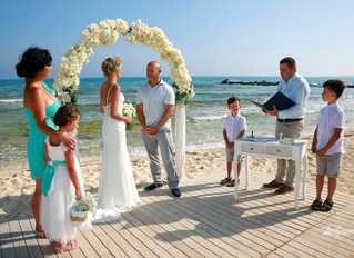 Sirens beach, Ayia Thekla Municipality  Procedure For Civil Marriage - Photoprnt cyprus