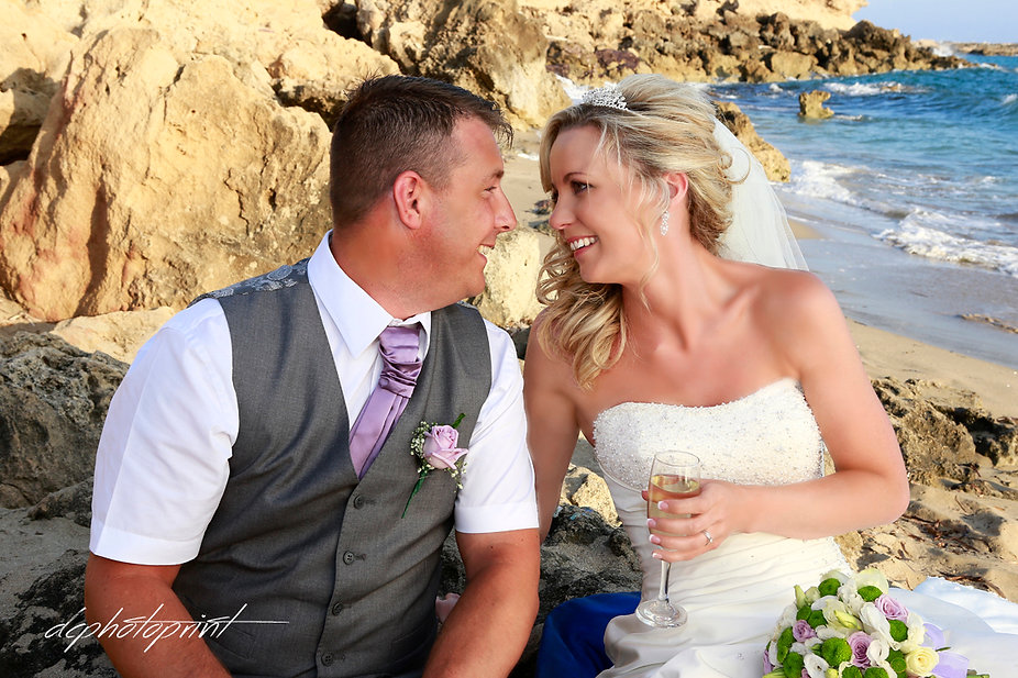 Steve and Diana'sWedding from ENGLAND heldat theTown Hall Paphos, Cyprus | Bespoke wedding pictures ideas in Paphos cyprus, getting married in Paphos town hall for best photography