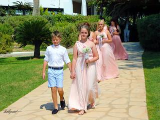 Nissi Beach Resort in ayia napa wedding photographers