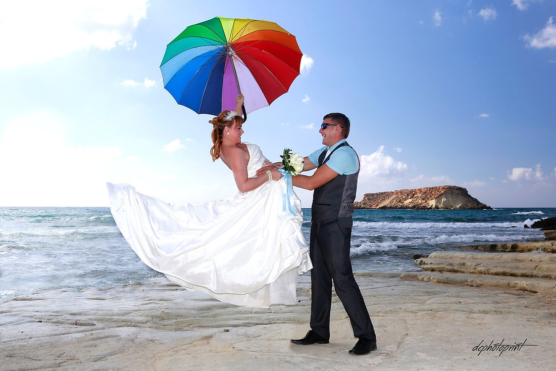 Beautiful and gentle wedding photo session outdoors of the elegant couple (bride in a white dress with veil holding a bouquet and groom in the classic tuxedo costume) | wedding photographers for wedding in Paphos cyprus, cyprus wedding photographer photography Paphos