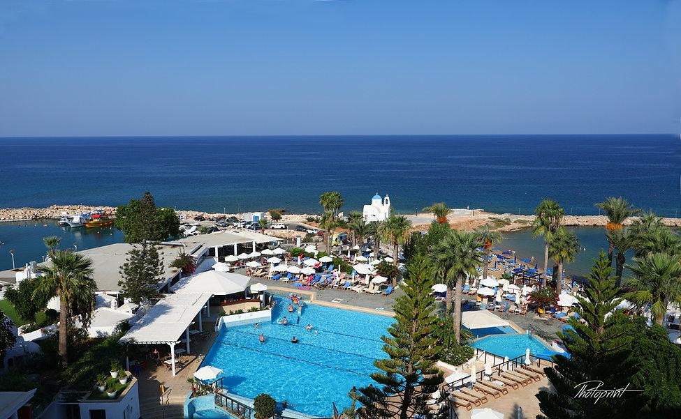 Photo of Ayios Nicolaos church in Protaras and Golden Coast Beach Hotel - Cyprus  | Protaras wedding photographer