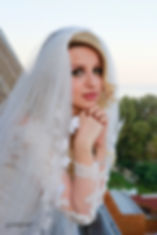 Happy brunette bride Close-up portrait of gorgeous beautiful bride in white dress with amazing hair style and make up at AMATHUS BEACH HOTEL, Limassol | wedding venues in limassol cyprus, cyprus wedding photographers town hall limassol