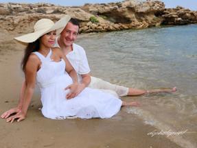 wedding photography at the capo bay Hotel protaras cyprus