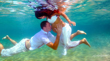 cyprus  affordable wedding photography ayia napa - Underwater wedding photography