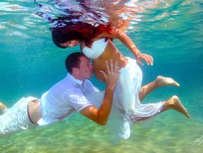 cyprus  affordable wedding photography ayia napa - Underwater wedding photography