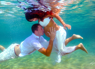 underwater wedding photographer - Photoprint cyprus