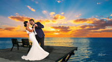 Cyprus wedding photographer Larnaca -  beach wedding photography
