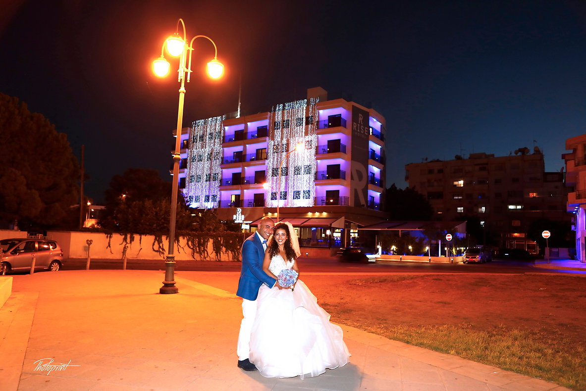 Happy just married young wedding couple celebrating after the wedding | larnaca wedding photographer cost, larnaca cyprus wedding photographers cheap, larnaca wedding photographer cost