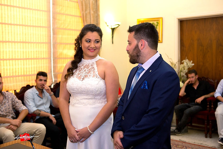 Couple during wedding ceremony | cyprus wedding photography best prices, weddings photographer paphos