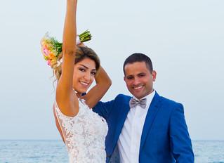 cyprus wedding photographers - Larnaca beach wedding photography