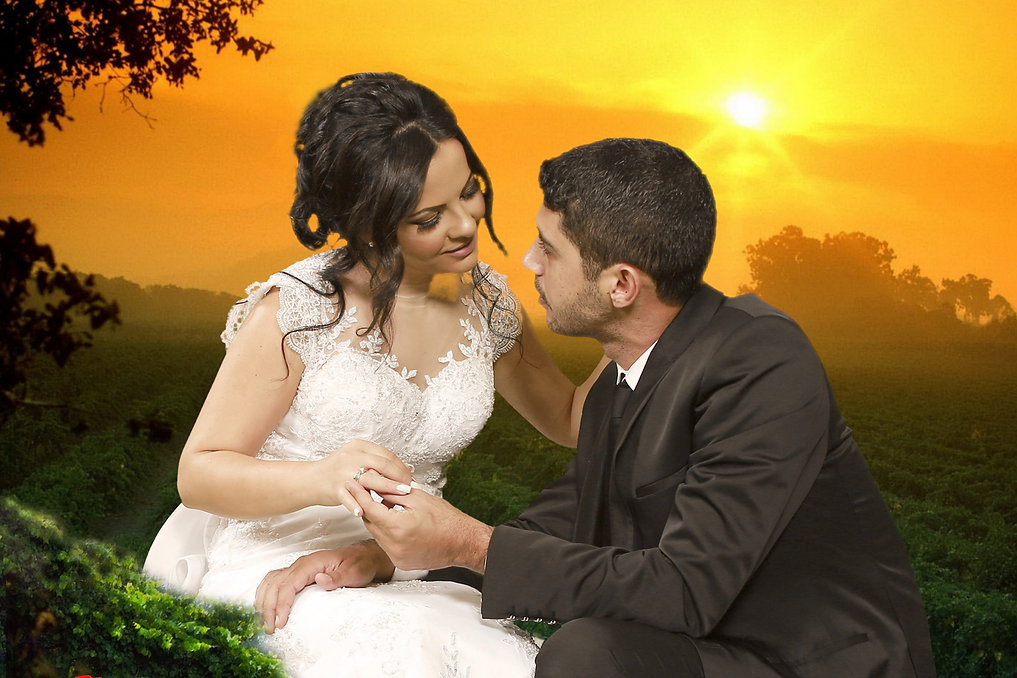 Wedding couple holding hands on amazing sunset at Paphos.|  Best place to get married in cyprus, best paphos cyprus wedding photography websites