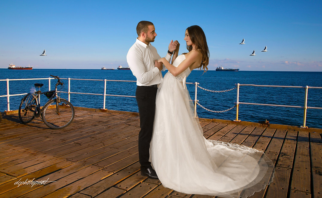 ayia napa Town Hall wedding photos   |  Be yourself and have fun. Truly enjoy your day and soak in every moment. It will be reflected in your photographs!