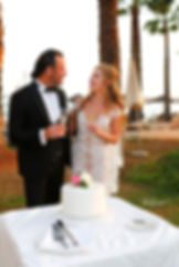 Bride and groom holding champagne glasses  |  larnaca phootgraphers, Wedding Photographers in Cyprus | photoprint cyprus, cyprus wedding larnaca photographer