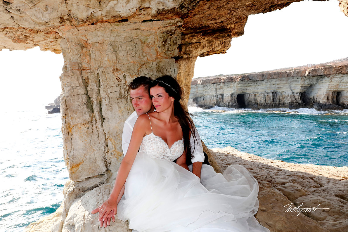 Loving couple together outdoors at Gavo Greco | best wedding prices photographer in ayia napa municipality, cyprus best wedding photographer ayia napa municipality