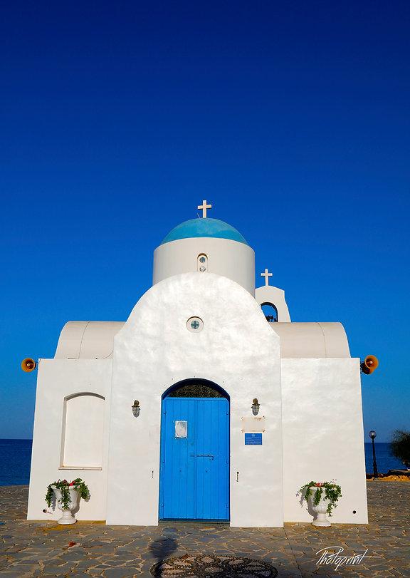 Ayios Nicolaos Church in Protaras, Cyprus | protaras cyprus wedding package for lebanese weddings, wedding photo ideas protaras cyprus