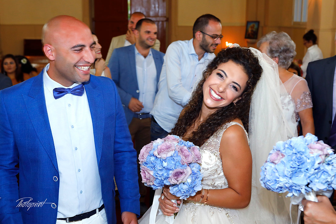 Happy just married young wedding couple celebrating and have fun   wedding photographer larnaca, wedding photoshoot locations in lebanon and cyprus, wedding photographers lebanon - protaras