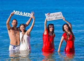 ayia thekla beach cyprus wedding