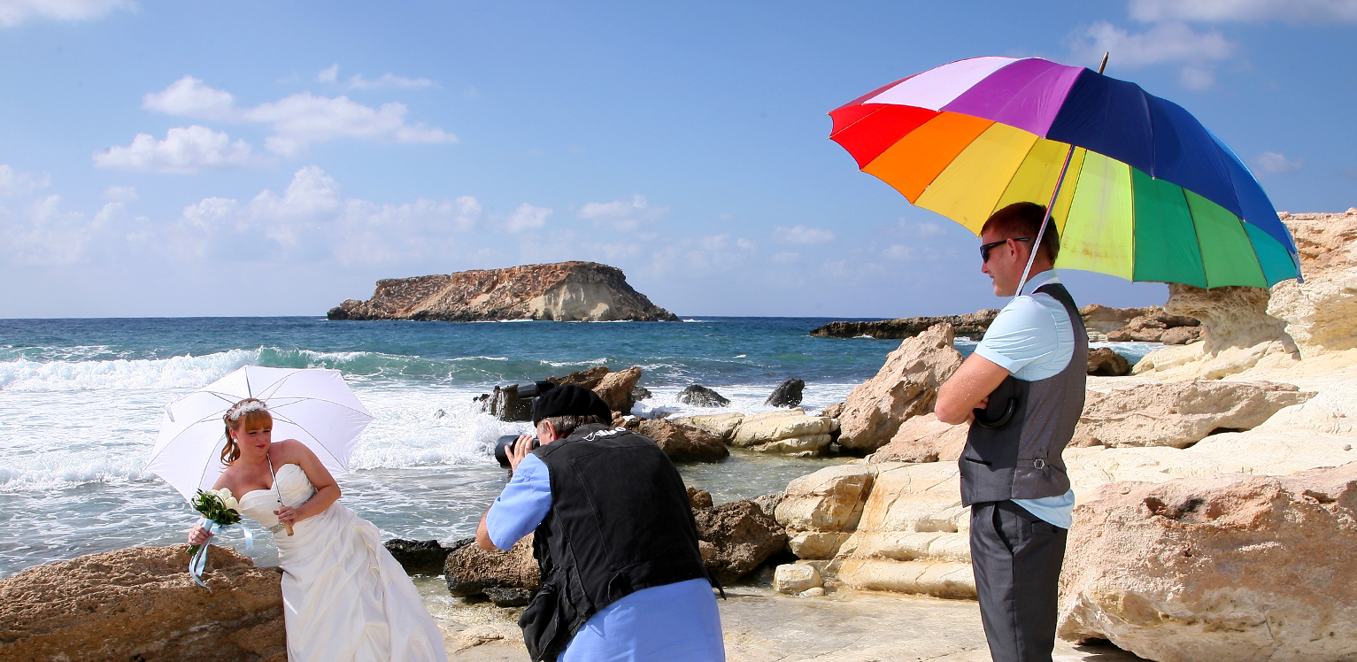 Budget wedding photographer paphos