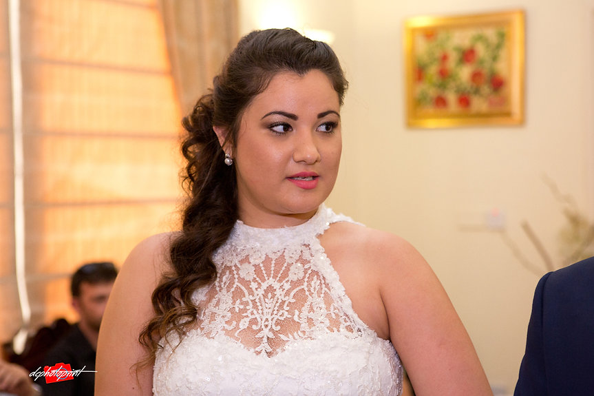 Wedding portrait of young beautiful bride | paphos wedding photographer, wedding photography paphos