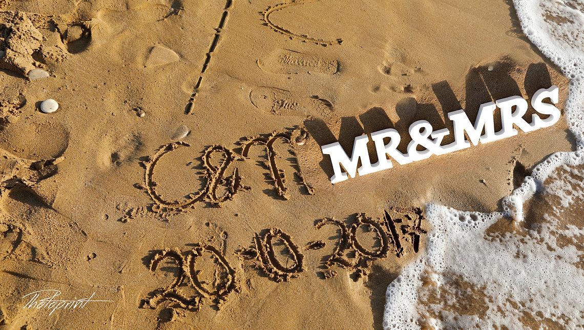 I love you - inscription on the  Paphos beach sand, soft surf wave | paphos wedding photographer, wedding photographer paphos, beach weddings paphos