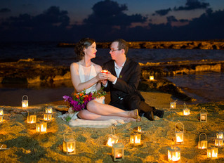 cyprus wedding photographers prices Paphos beach hotels