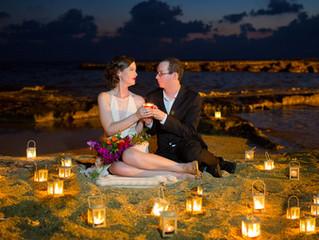 cyprus wedding photographers prices Paphos beach hotels