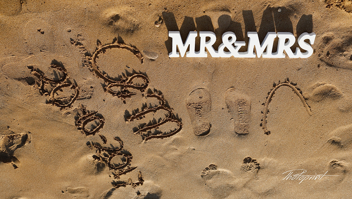 Just Married written in sand on a beautiful Paphos beach, MR&MRS | professional wedding photographer cyprus, cyprus wedding photographer Paphos prices, cyprus wedding photographer paphos, cyprus wedding photographers Paphos