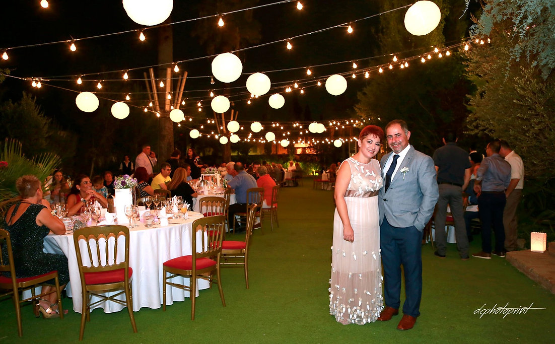 Chris and Sylvia's beautiful night wedding photoshoot took place in nicosia, the most romantic cyprus wedding under the star night sky | Wedding Venues in Cyprus | Wedding Packages in Nicosia