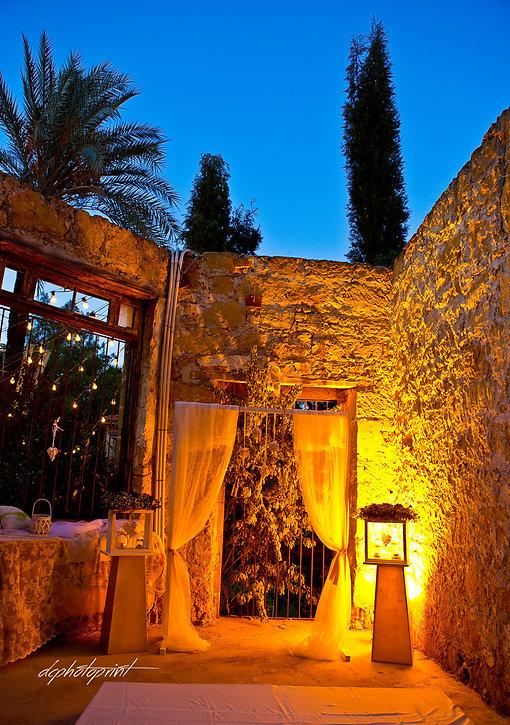 Wedding white reception place is ready | wedding paphos  photographers, best cyprus wedding photographers paphos