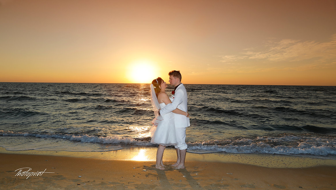Bride & Groom Married Couple Kissing at Sunset Beach Wedding | cyprus Paphos  wedding photography costs, Cyprus dream wedding photography Paphos, Paphos beach hotels wedding photography, cyprus wedding photographer prices