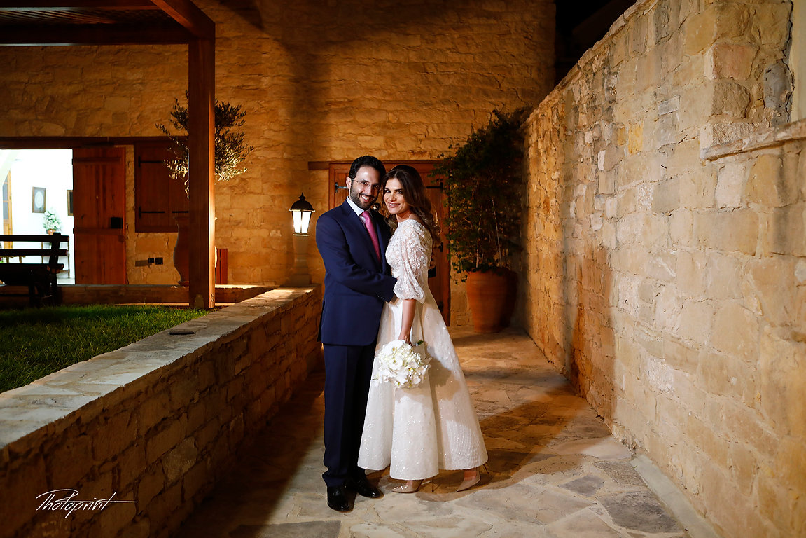 Sami and Rim Kachmar's Wedding from Lebanon in Amazing Photo Shooting  at YERMASOYIA MUNICIPALITY, Limassol - Cyprus