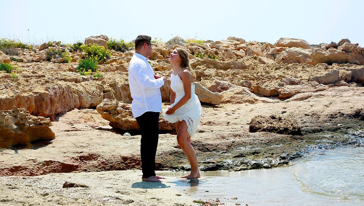Romantic couple on beach at sunset |  ayia napa cyprus wedding photos,ayia napa cyprus wedding venues,ayia napa cyprus wedding venues, ayia napa photographers cyprus