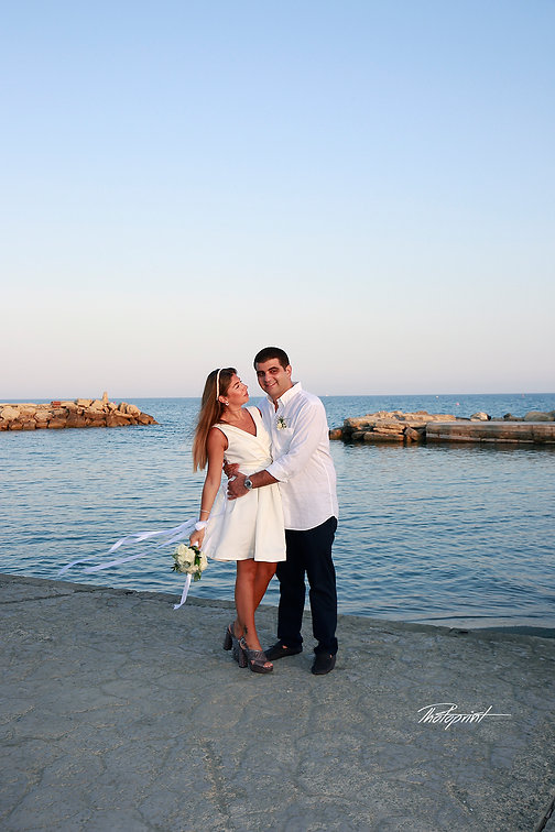 Couple in love in the beach on Mediterranean sea |  wedding photography limassol cyprus, professional wedding photographer limassol cyprus