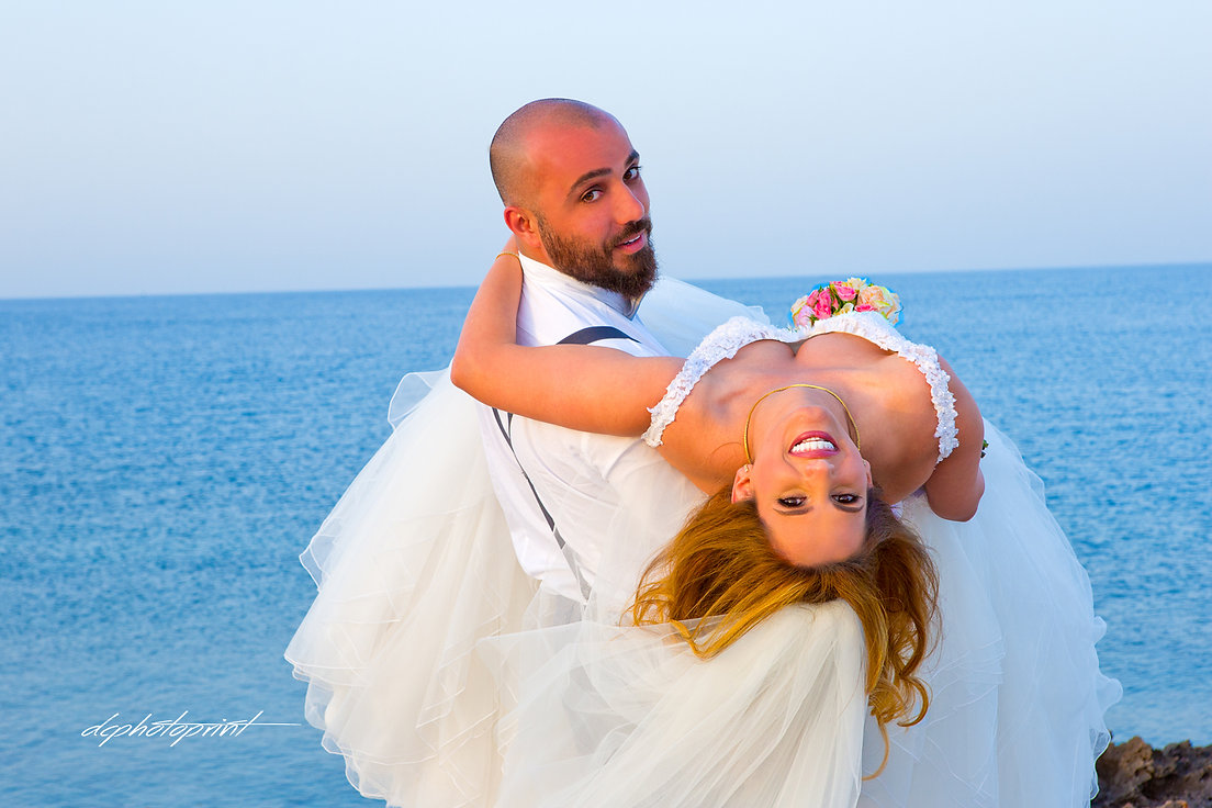 The Beautiful Marriage between  Halim and Dolly  from LEBANON, held at the   St Nicolas  PROTARAS  and  then  PALM BEACH HOTEL  LARNACA on the   29 April 2017