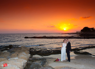 Amazing wedding at the ATHENA BEACH HOTEL