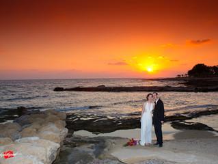 Amazing wedding at the ATHENA BEACH HOTEL