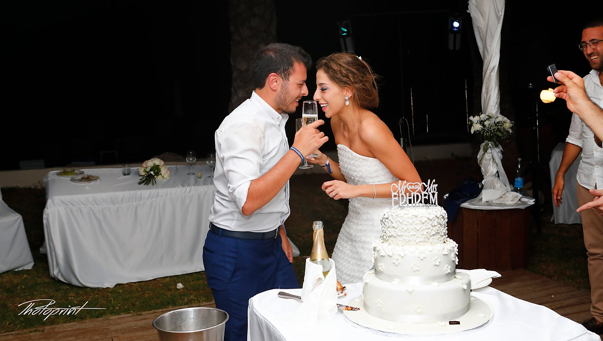 Young Wedding Couple Looking At Another enjoying romantic moments | wedding packages in larnaca, wedding venues in larnaca, wedding venues in larnaca cyprus