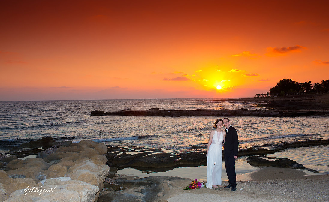 Itai and Mary's from ISRAEL at Athena Beach Hotel paphos, at a beautiful Wedding photo shooting by the beach, the most romantic sunset in cyprus. civil marriage in cyprus for israeli couples in paphos,civil marriage Israeli in Cyprus | Russian-speaking, israeli wedding photos cyprus, packages for Israeli nationals deciding to get married in cyprus, wedding in cyprus for israeli, wedding in cyprus for israeli couples, wedding photographer  in cyprus for israeli, wedding venues for israeli