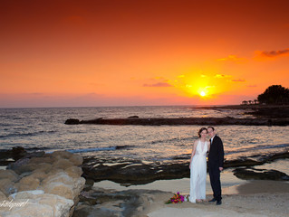 Cyprus wedding photography - A Beautiful Wedding Location at Athena Beach Hotel - Paphos, Cyprus